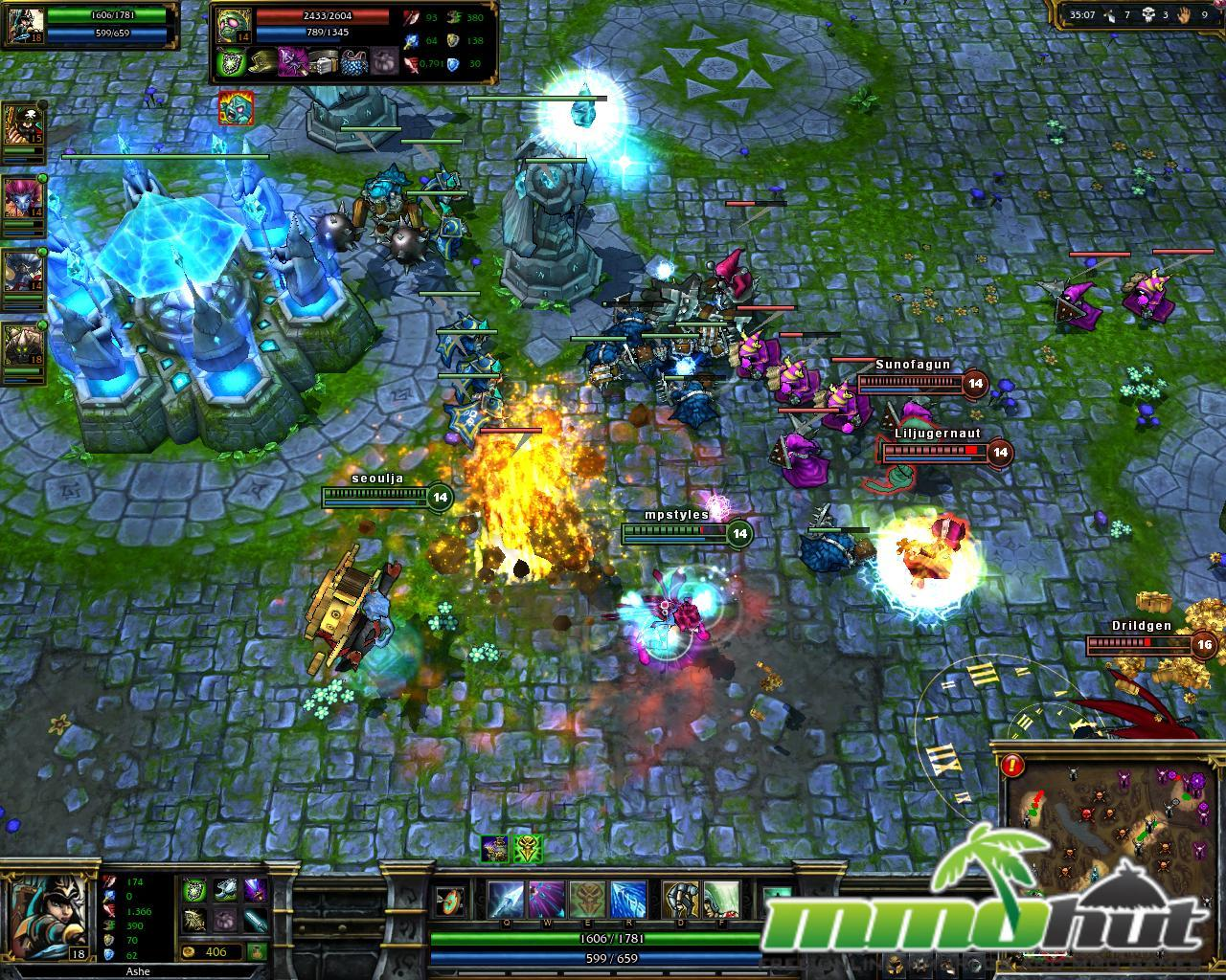 league of legends big fight main League Of Legends Review