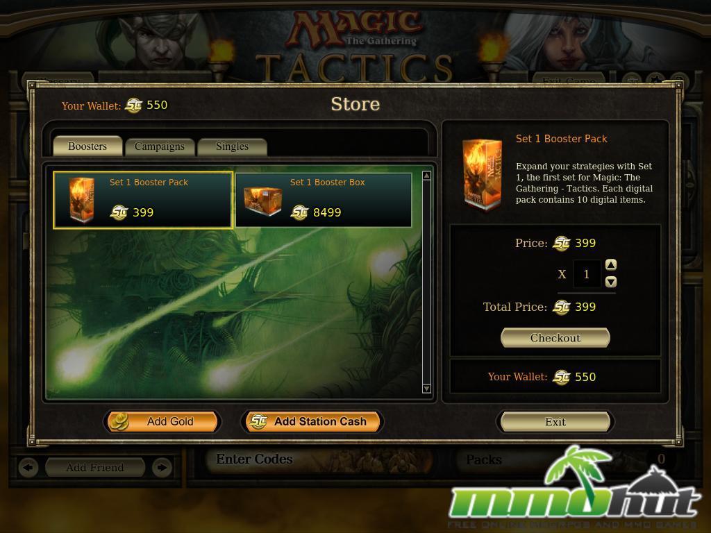Magic shops online