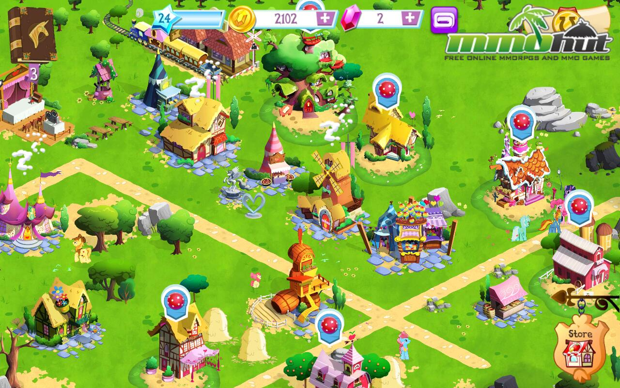 My little pony friendship is magic mmohuts Majic app