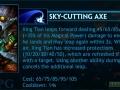 XingTianSkyCuttingAxeList