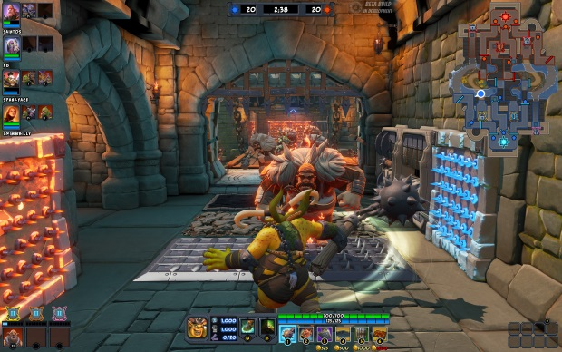 OMDU Preview Event Screenshot, Ball N Chain Defending the Base