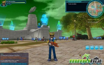 Fusion Fall Front View Screenshot