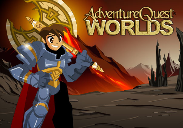 AdventureQuest Worlds Game Banner