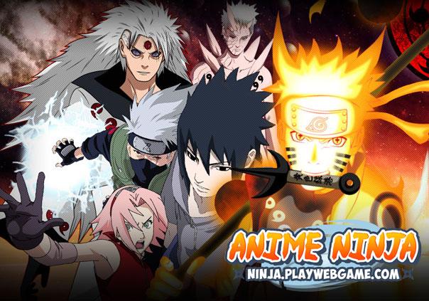 Anime Ninja Game Profile Banner