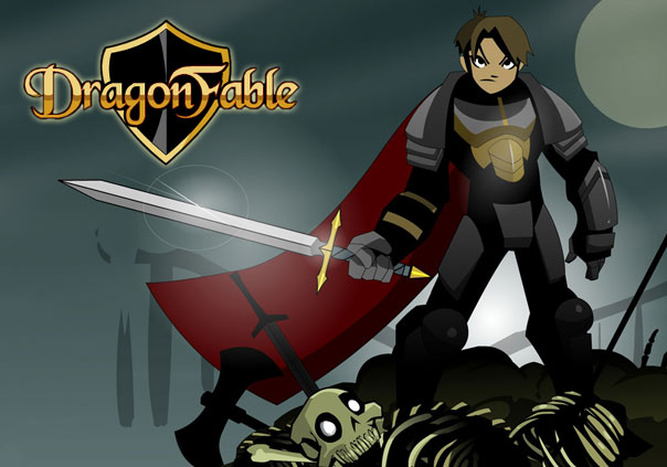 DragonFable Game Profile Banner