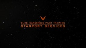 Elite: Dangerous Pilot Training - Starport Services Video Thumbnail