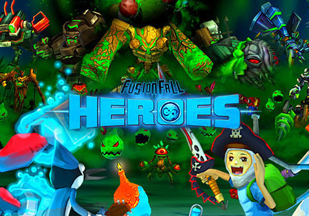 FusionFall Game Profile Banner