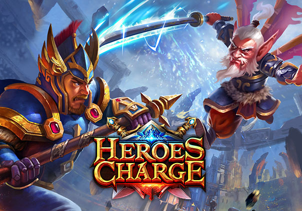 Heroes Charge Game Banner