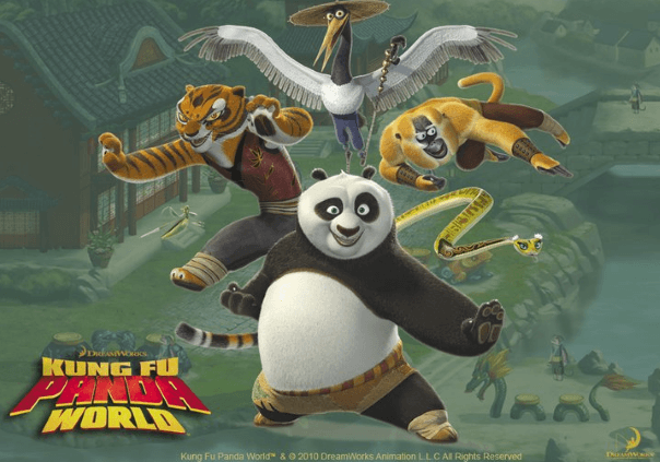 Kung Fu Panda World Game Banner