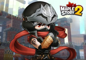Maplestory 2 Game Banner