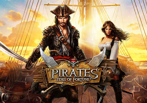 Pirates Tides of Fortune Game Banner