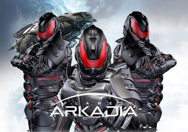 Planet Arkadia Game banner