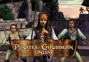 Pirates of the Caribbean Online Game Banner