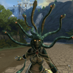 SMITE Medusa in Game Screenshot