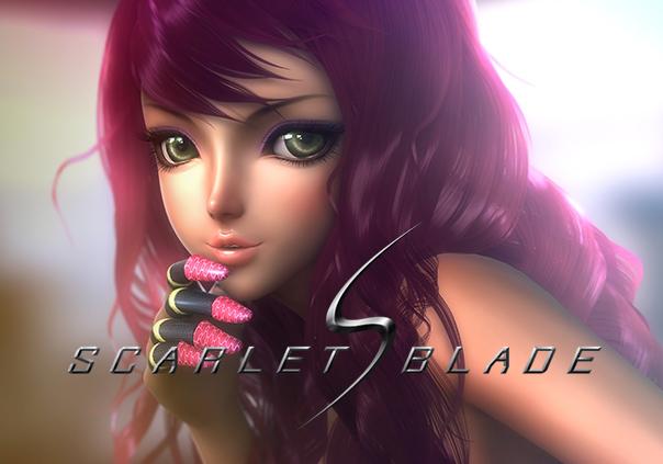 Scarlet Blade Game Banner