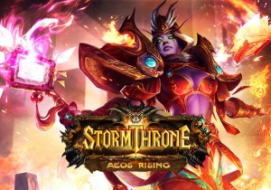 Storm Throne Game Banner