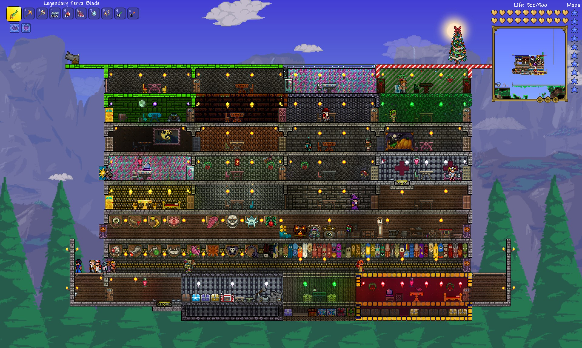 Staircase Ideas Terraria 2014 Refresher Review Mmohuts