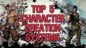 Top 5 Character Creation Systems Video Thumbnail