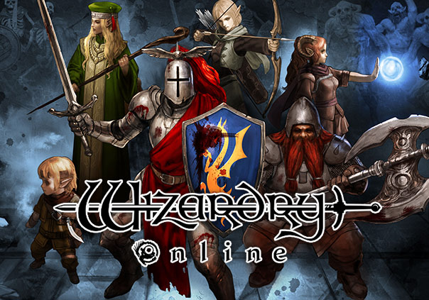 Wizardry Online Game Banner