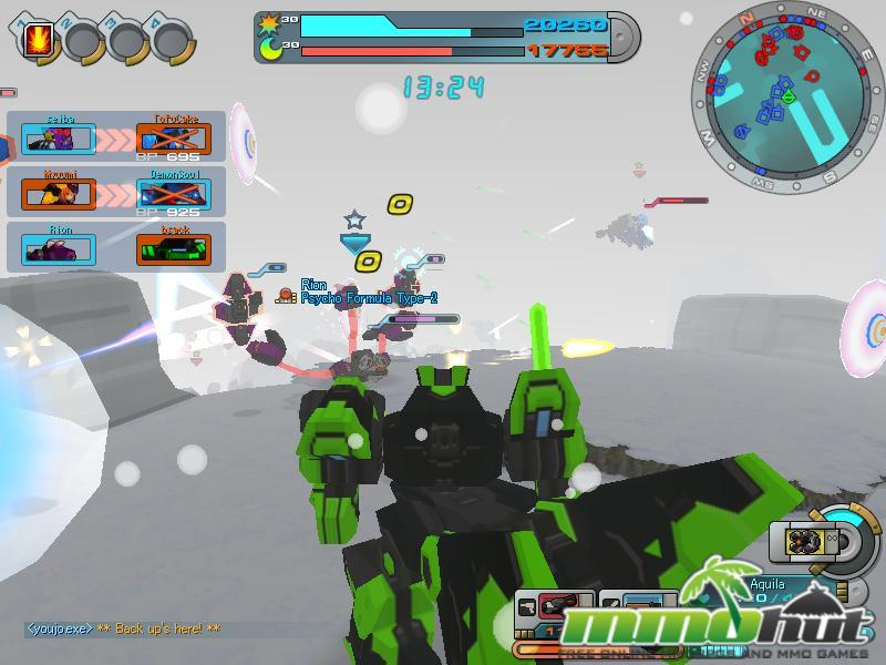 CosmicBreak Fire Fight Screenshot