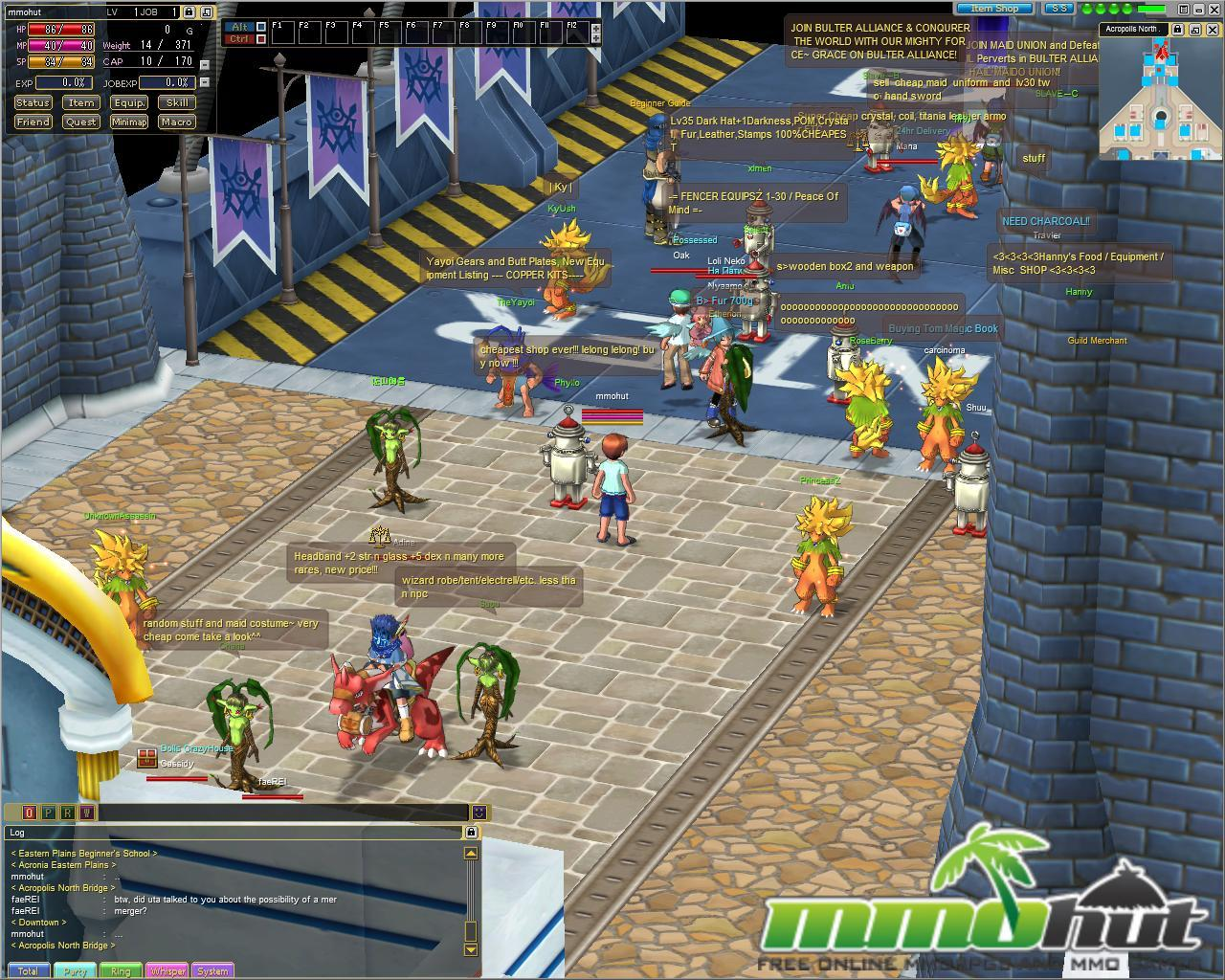 Emil Chronicle Online Players Screenshot