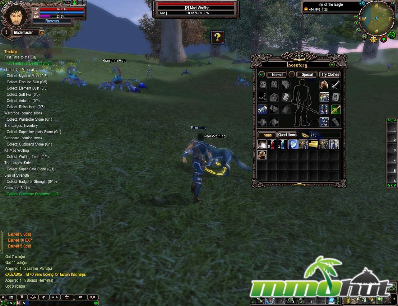 best free mmorpg pvp games