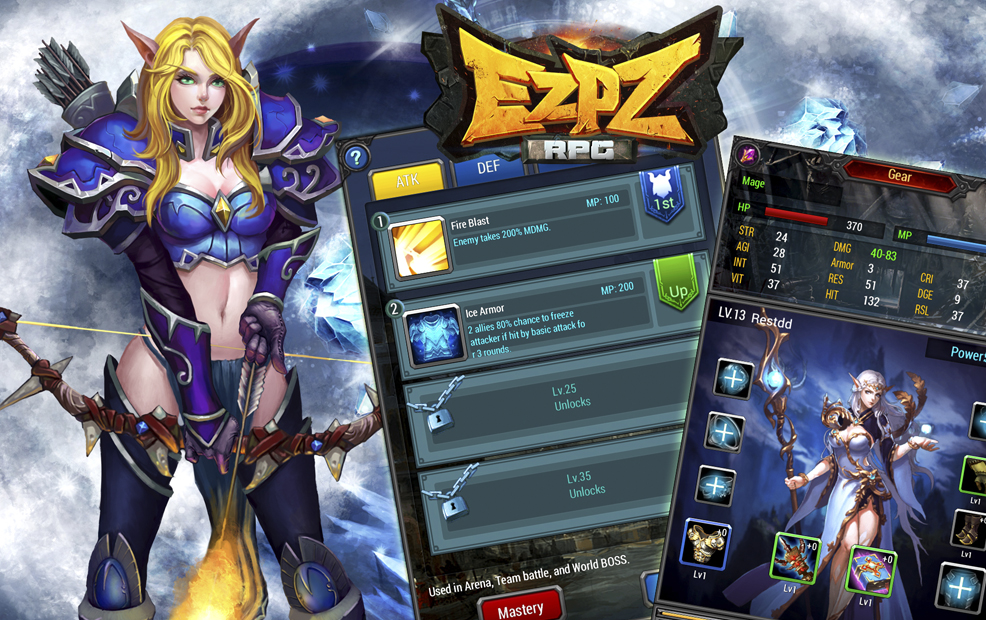 EZ PZ RPG Launches Globally In 7 Languages Post Main
