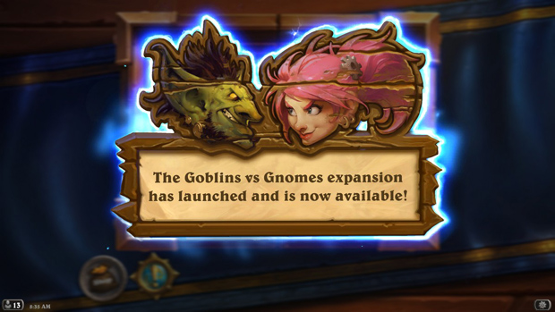 Hearthstone Goblins Vs Gnomes Review Sreenshot I