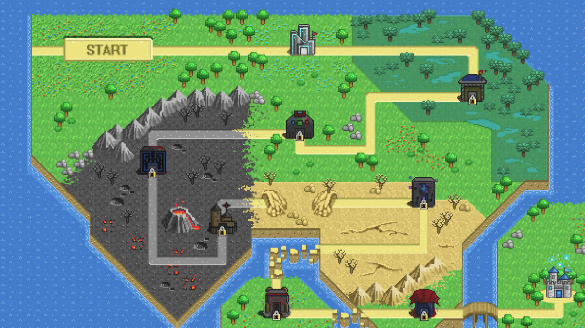 Heroes of Newerth Pays Homage to 8-Bit Gaming Era with Interactive Map Post Banner