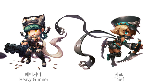 Maplestory 2 Korea Classes