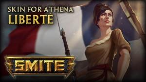 SMITE: Liberté Athena Skin Video Thumbnail