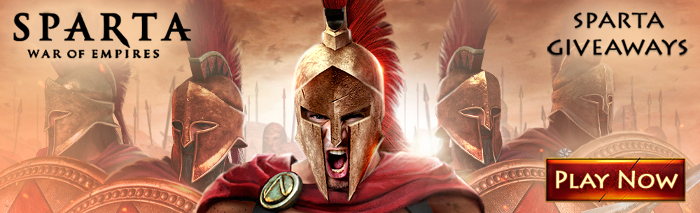 Sparta: War of Empires Promo Pack Giveaway