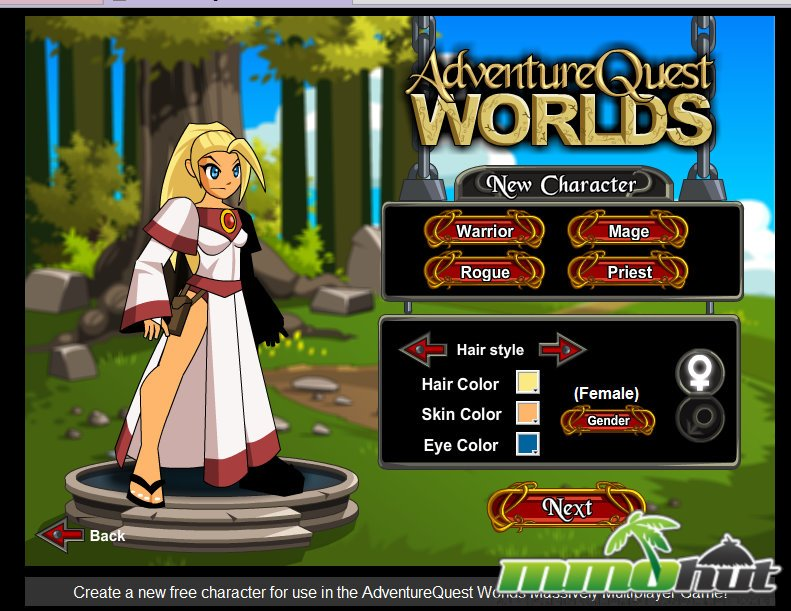 Adventure Quest Worlds Review Post Banner