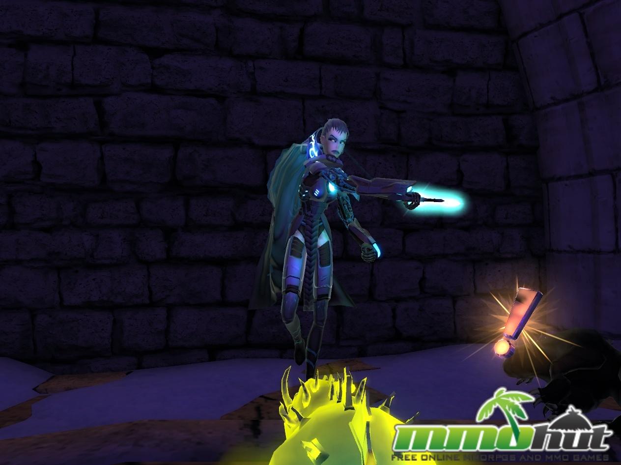 Chapions Online Review - Combat Screenshot