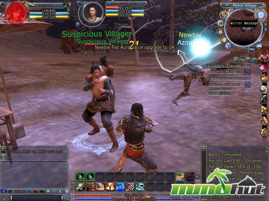 Scarlet Legacy Review Screenshot