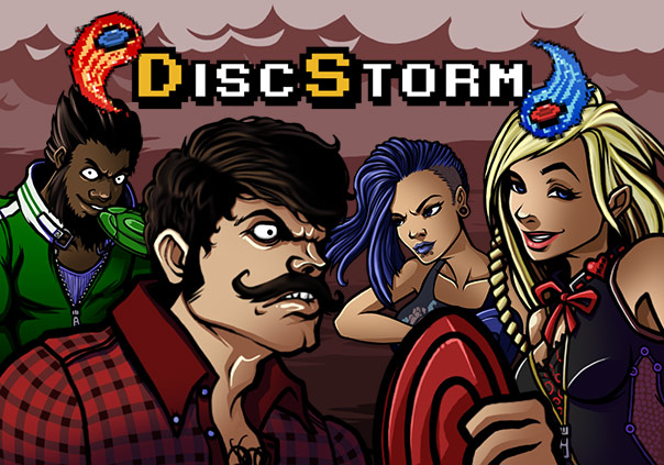 DiscStorm Game Profile Banner