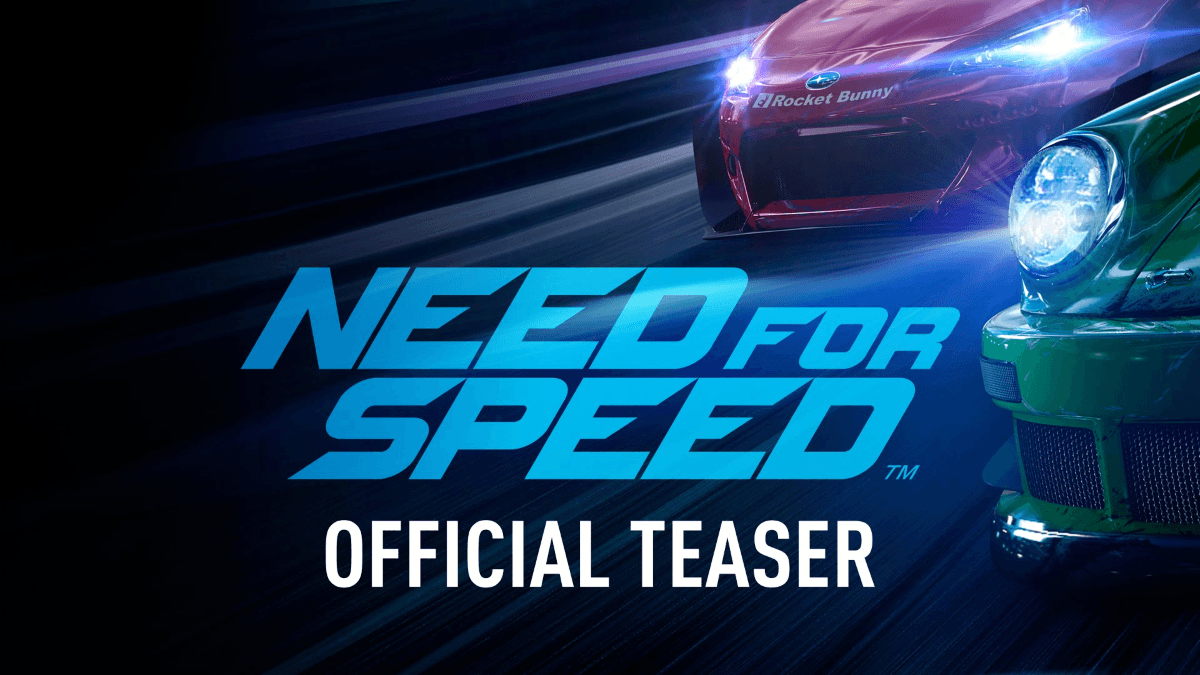 Need for Speed Teaser Trailer Thumbnail