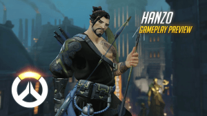 Overwatch Hanzo Gameplay Preview Video Thumbnail