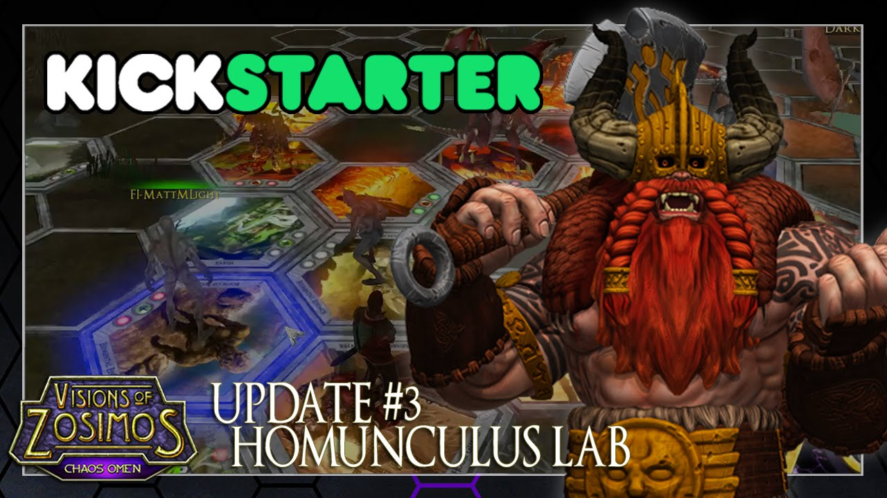 Visions of Zosimos Kickstarter Update: Homunculus Lab Video Thumbnail