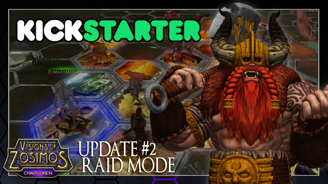Visions of Zosimos Kickstarter Update: Raid Mode Video Thumbnail
