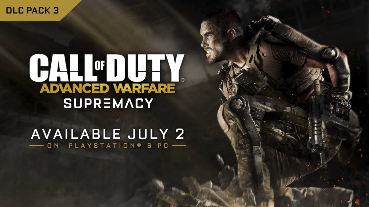 Call of Duty: Advanced Warfare Supremacy DLC Coming to PS and PC News Header