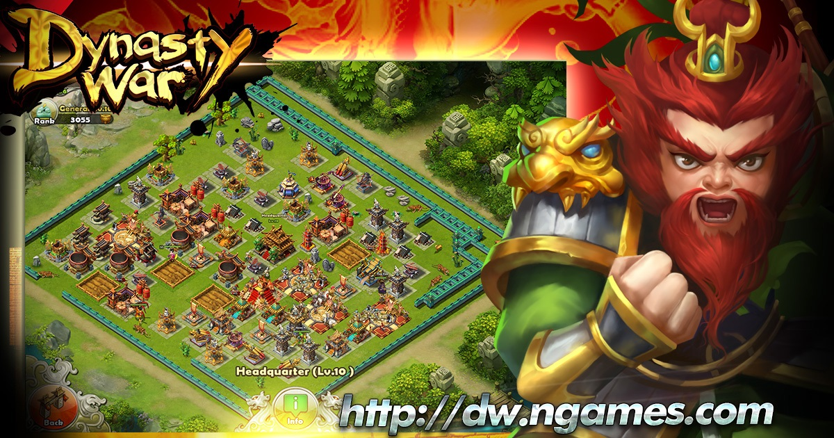 NGames' Mobile Game Dynasty War Launches Today Post Header