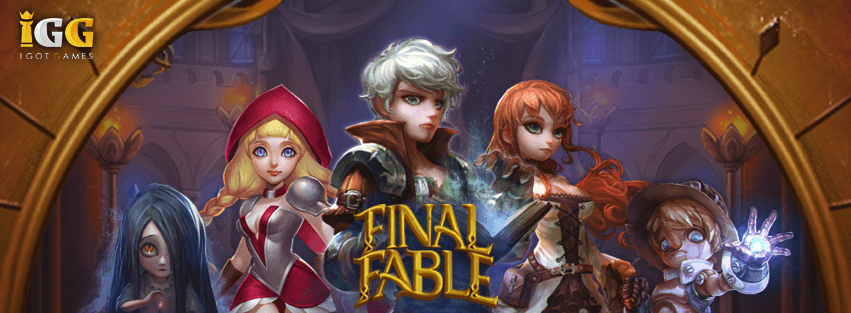 IGG to Release New Mobile Game: Final Fable News Header