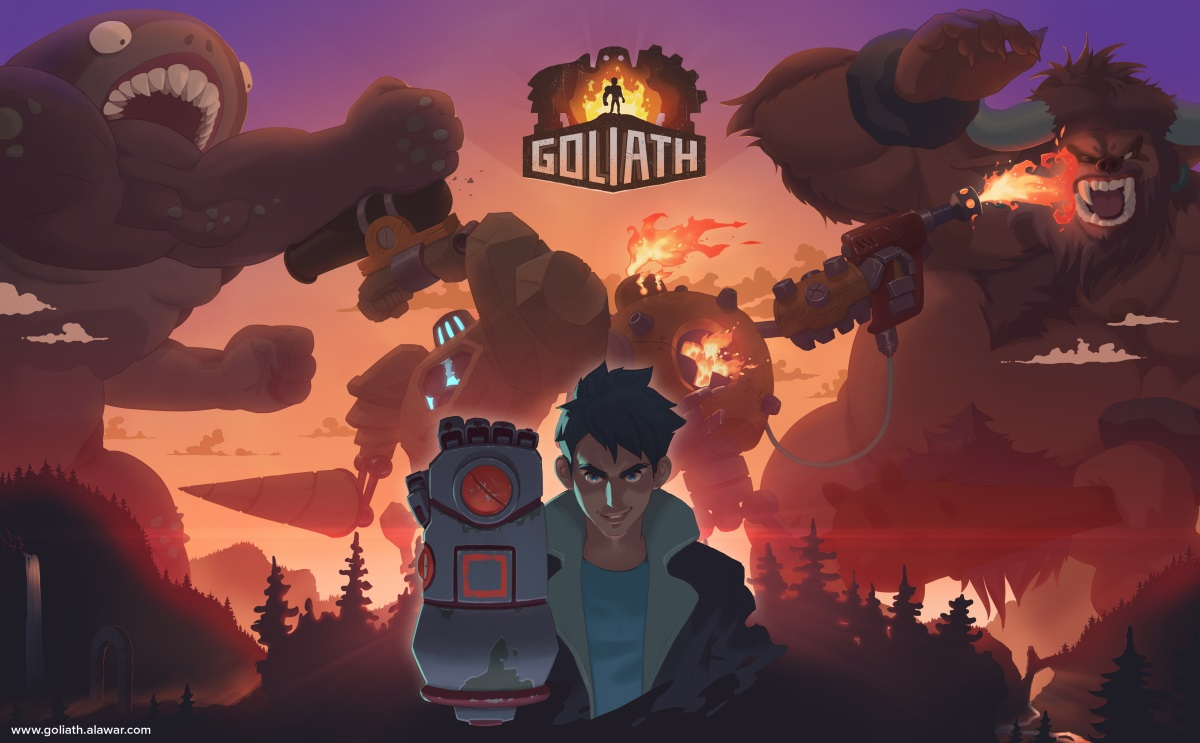 Viva Media and Whalebox Studios Announce Goliath News Header