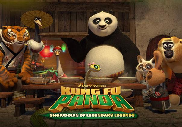 Kung Fu Panda Showdown of Legendary Legends Game Profile Banner