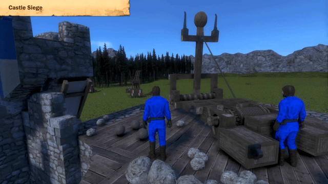 Medieval Engineers Castle Siege Trailer thumbnail