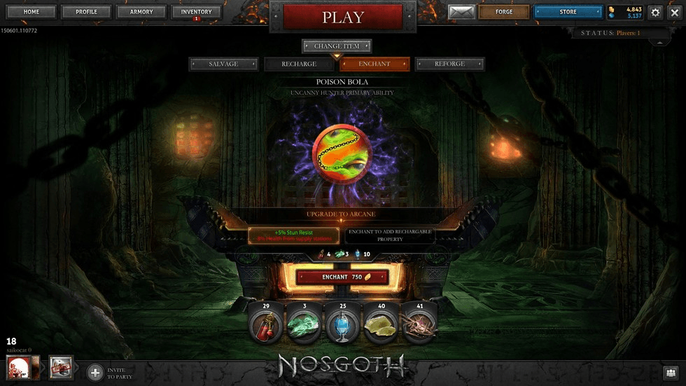 Crafting Comes to Nosgoth news Header