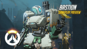 Overwatch: Bastion Gameplay Preview video thumbnail