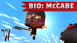 World of Warriors Bio: McCabe Video Thumbnail