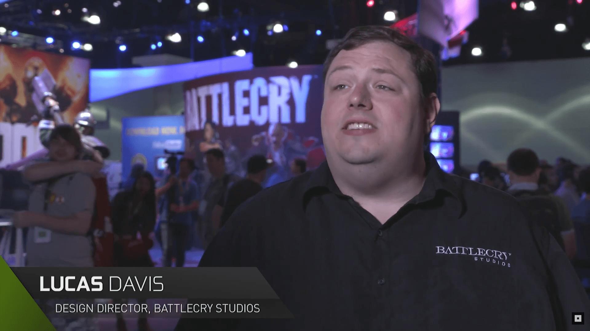 Battlecry talks to Nvidia at E3 2015 video thumbnail
